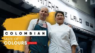 Authentic Colombian food in London | Taste of Colours | E5