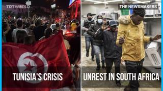 Political Crisis in Tunisia | Worst Unrest in South Africa