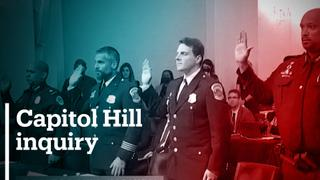 Police officers testify at hearing on Capitol riots