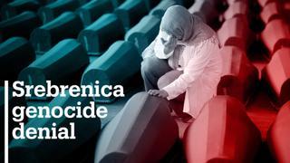Bosnia's top international official outlaws genocide denial