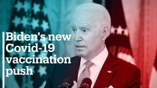 Biden's new Covid-19 vaccination push