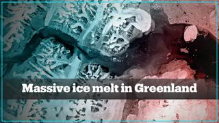 Enough ice melted in Greenland to cover US state of Florida