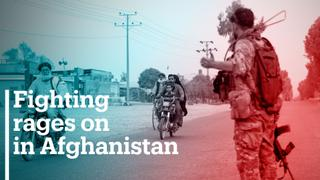 Fighting rages on in Afghanistan