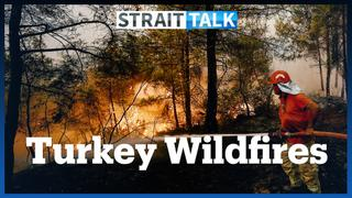 Turkey Battles Forest Fires, Thousands Evacuated to Safety