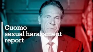 Inquiry found Gov Cuomo sexually harrassed 11 women