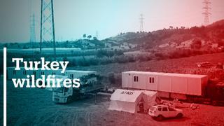 Heatwave adds fuel to Turkey wildfires