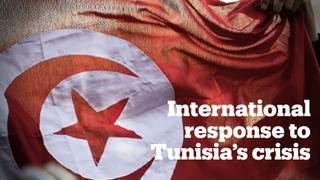 The world reacts to Tunisia's political crisis