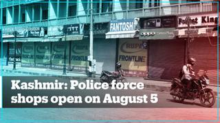 Traders in India-administered Kashmir forced to open shops on August 5
