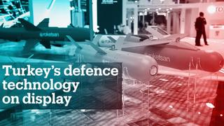 Turkey's latest defence technology takes the stage at International Defence Industry Fair
