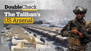 What did the world's most powerful military leave behind in Afghanistan?