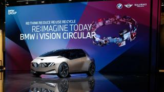 BMW launches recyclable concept car 'i Vision Circular'   Money Talks