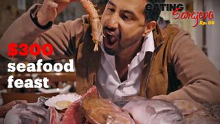 Eating Sarajevo E5 - Epic $300 seafood feast