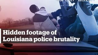 Long-withheld footage shows police brutality in the US state of Louisiana