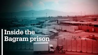 Inside the infamous Bagram prison