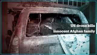 US targeted and killed Afghan aid worker and his family