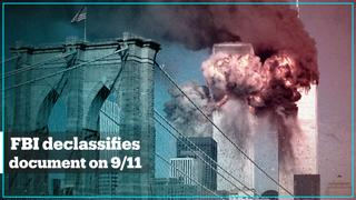 FBI releases first document linked to September 11 attacks investigation
