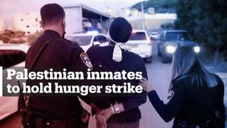 1,400 Palestinians in Israeli jails to launch hunger strike