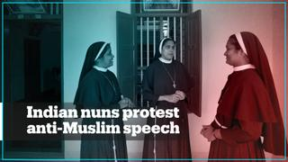 Nuns in India stage walk-out to protest priest's anti-Muslim speech
