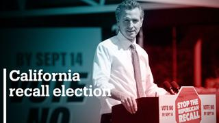 Californian voters reject attempt to remove Democratic Party governor