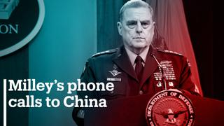US military's Milley defends phone calls to China