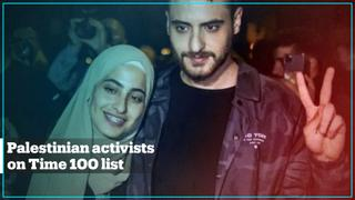 Palestinian activists feature on Time's Most Influential People list