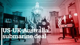US-UK-Australia announce new nuclear submarine deal