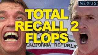California Governor Gavin Newsom beats recall vote