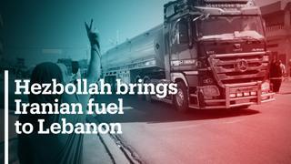 Hezbollah brings Iranian fuel to crisis-hit Lebanon
