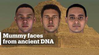 Faces of three ancient Egyptian mummies brought to life using 2,000-year-old DNA