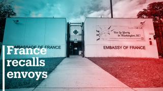 France recalls envoy over Australia-US submarine deal