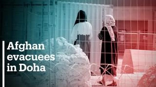 900+ Afghan evacuees in Doha processing centre