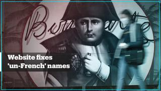Website suggests French names based on a Napolean-era law
