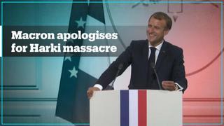 French president apologises to betrayed Algerian Harkis