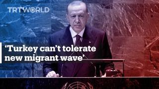 Erdogan warns of new migrant wave