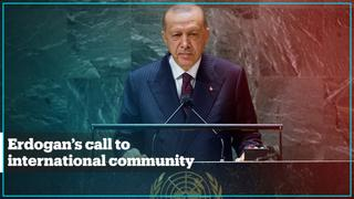 Highlights of President Erdogan's address to UN General Assembly