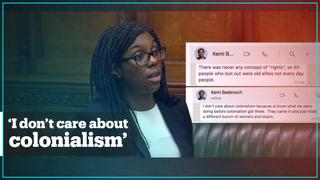 UK Equalities Minister dismisses colonialism in leaked WhatsApp chats