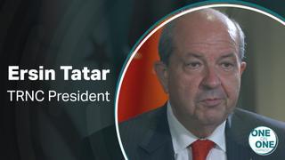 One on One – TRNC President Ersin Tatar