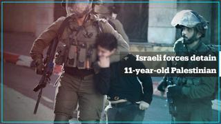 Israeli forces arrest 11-year-old Palestinian boy