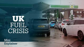 Panic buying leaves UK fuel stations dry