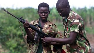 DRC Former Child Soldiers: Hundreds of children lay down their arms