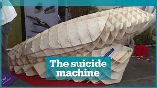Pro-euthanasia activist invents 'suicide machine'