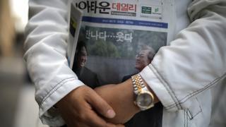Koreas Summit: Trump says US will maintain pressure on Pyongyang