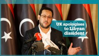 UK apologises to Libyan dissident Abdul Hakim Belhaj over his rendition