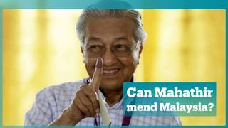 Mahathir is on a mission to remake Malaysia