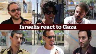 Israelis react to Gaza killings