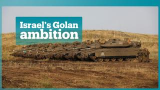 US 'may recognise' Israeli hold on Golan Heights