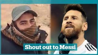 Palestinian footballer calls on Argentina footballers to boycott Israel