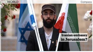 Meet Israeli artist Matan Pinkas who calls himself the 'Iranian ambassador' to Jerusalem