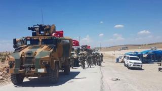 Turkey's Border Mission: Turkish, US troops start patrols in Manbij