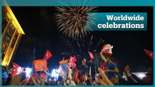 Thousands across the globe celebrate Turkey's election results